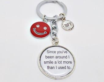 Best Friend Keychain Etsy