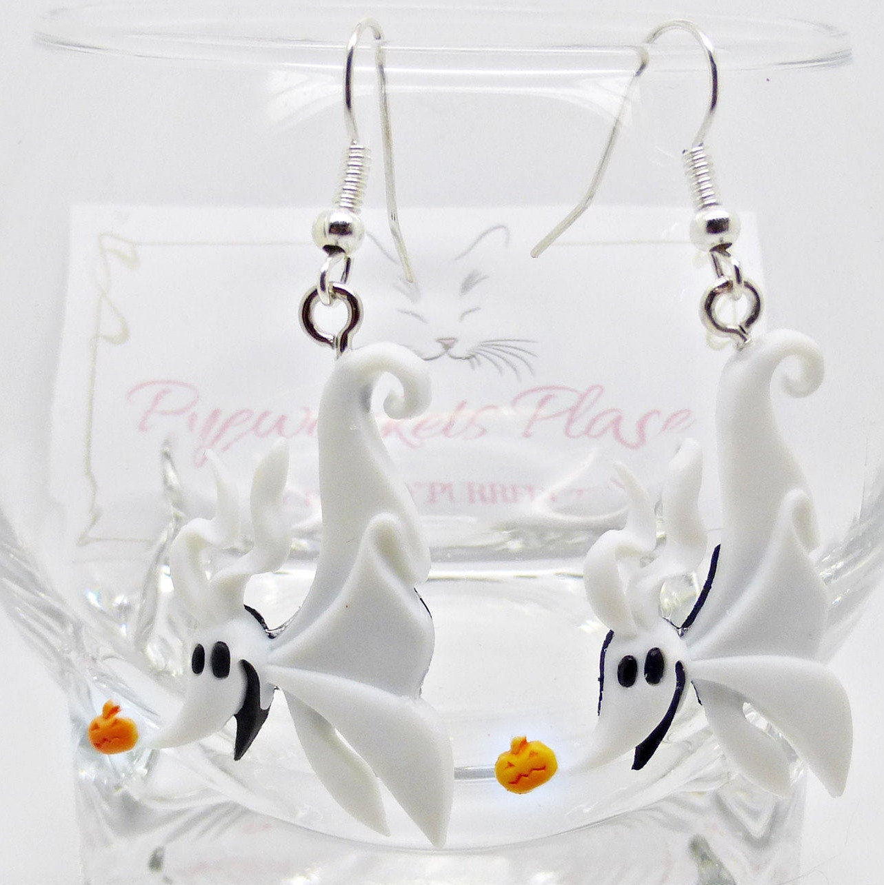 Nightmare Before Christmas Gifts Uk: Nightmare Before Christmas Earrings ZERO The Dog Earrings
