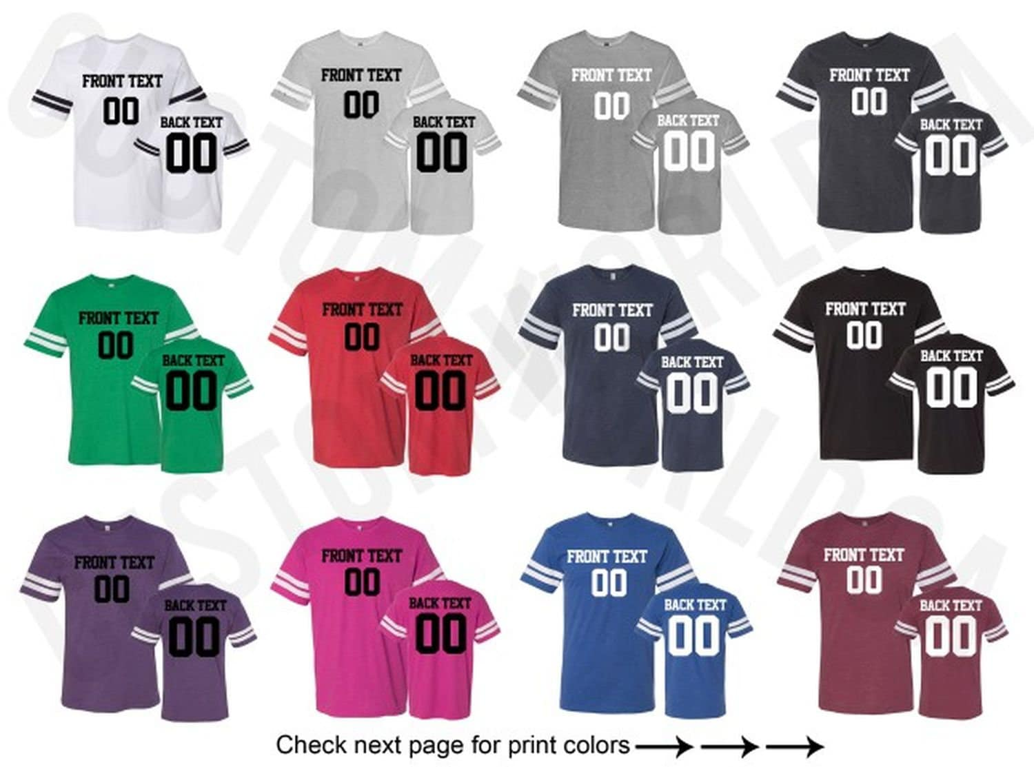 football jersey name tags