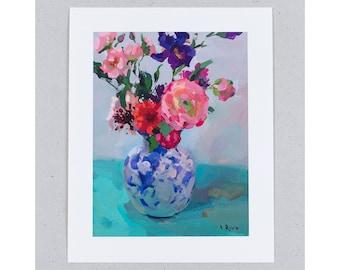 Giclée Print - Vibrant Bouquet – free shipping worldwide