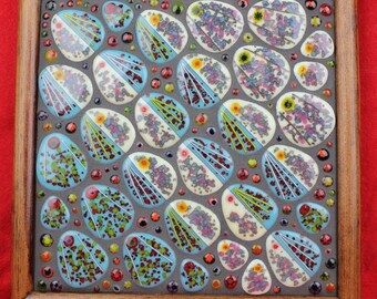 """Fused Glass Art - """"Take your Pick"""""""