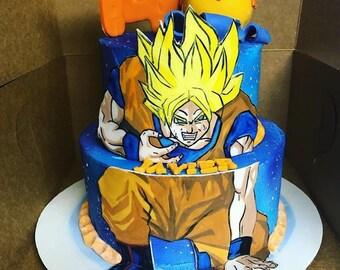 Dragon Ball Z Cake Kit