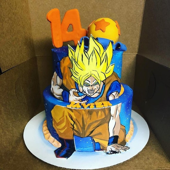 Dragon Ball Z Cake Kit