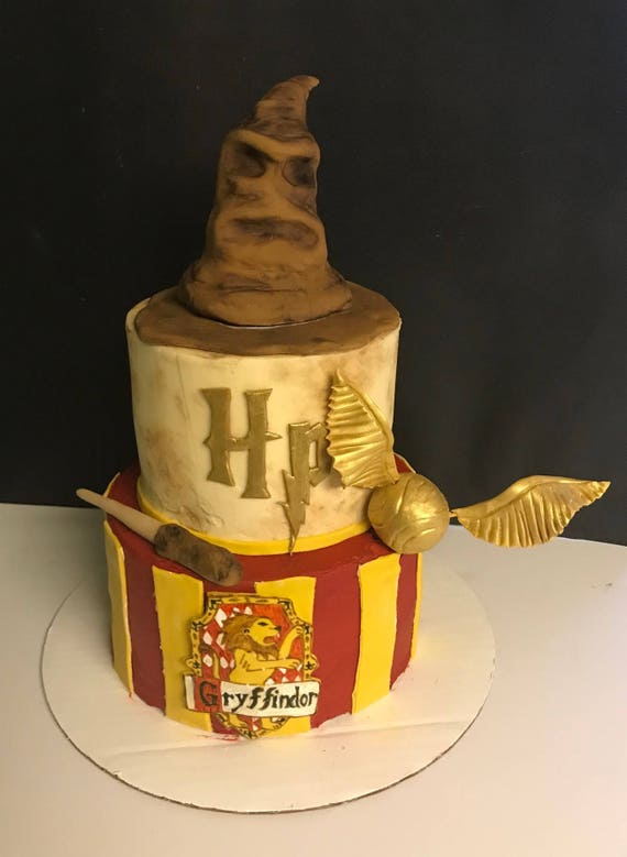 Harry Potter Cake Decorating Kit Etsy