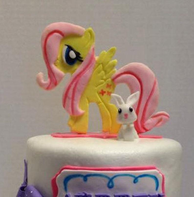 Fondant My Little Pony Cake Toppers