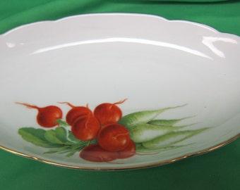 Joseph Rieber & Co.Porcelain Factory AG (Circa 1945-1976) Relish Dish