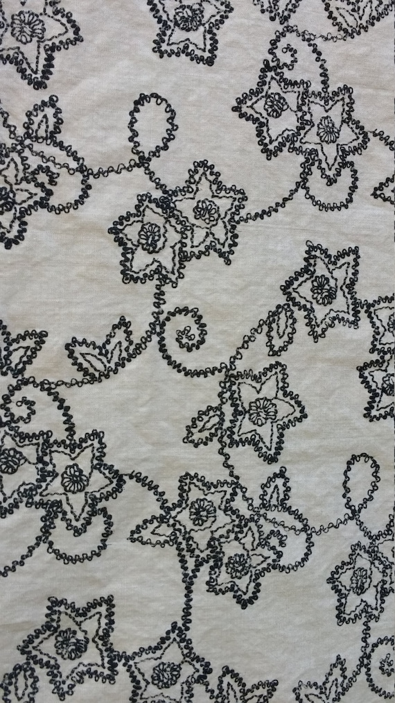 New Animal Fly Butterfly Pattern Upholstery Fabric Mono Grey Black Cream Colour