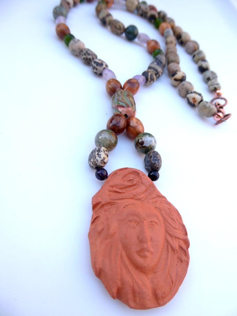 Native American Wisdom Necklace image 0