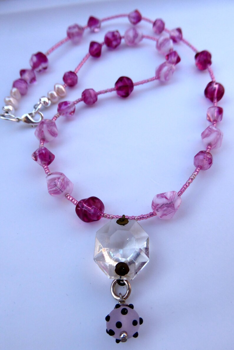 Pink Lady Necklace image 0