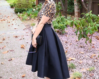 f45989309dc MADE TO ORDER  The High Low Skirt