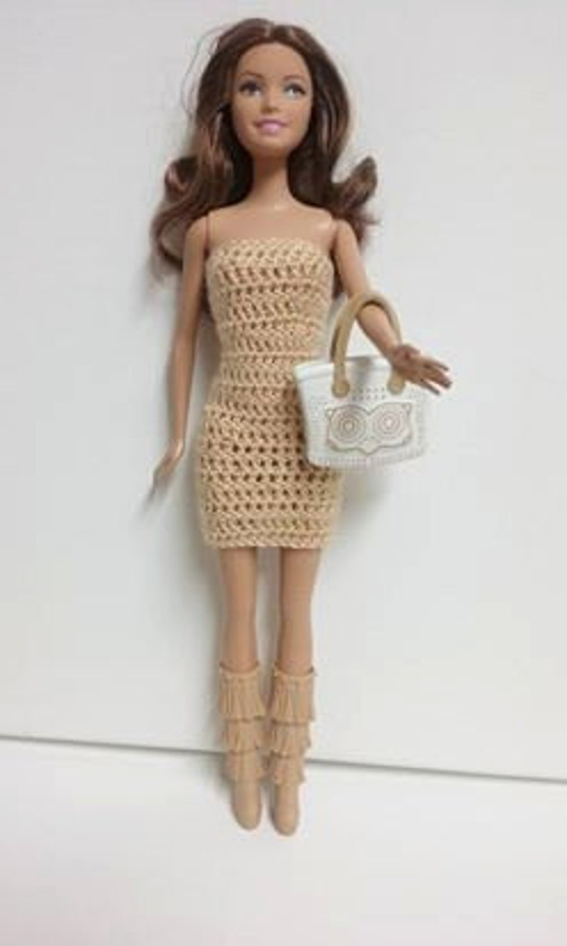Alluncinetto Conciare Barbie Dress Vestiti Per Le Bambole Etsy