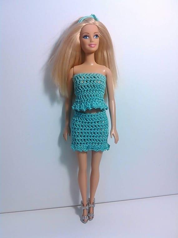 Vestiti Barbie Estate Di Vestito Etsy Alluncinetto Le Per Azi8vo8n