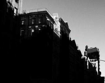 Broome Street - Black & White Photography, Print