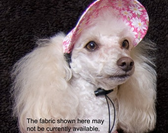 UDogU Dog Hat in Fashion Fabrics - 5 Sizes
