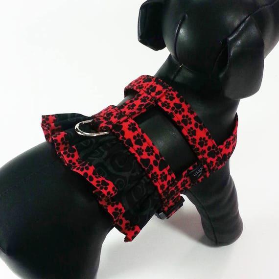 Paw Lene Harness Fancy Ruffle Harness From Udogu Etsy