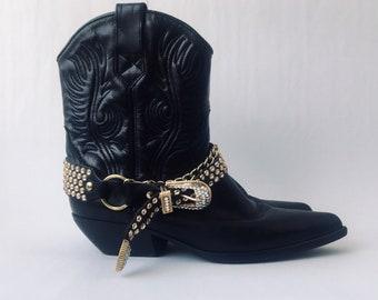 83610a8eb6b Short cowboy boots   Etsy