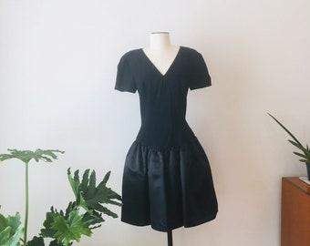 f2ca8ccbb1b 80s Morton Myles LBD   Vintage Party Dress   80s Dress