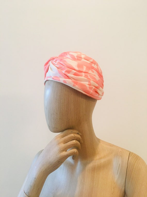 60s Turban / Turban Hat/ 60s Glam Hat / Hollywood… - image 2
