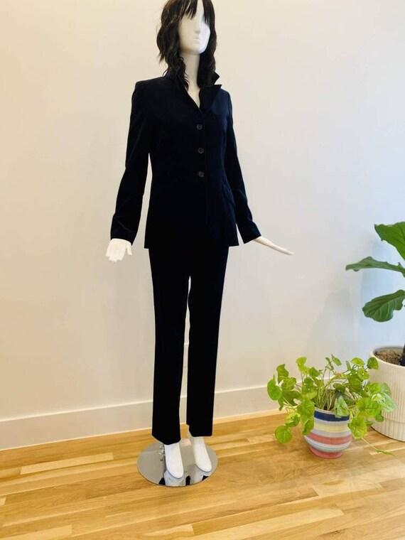 Paul and Joe Blue Velvet Women's Suit / French Str