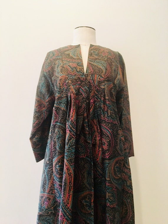 Jim ThompsonSilk Kaftan / 70s Silk Kaftan/ Rare Bo