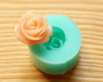 13mm Rose Mini Silicone Mold