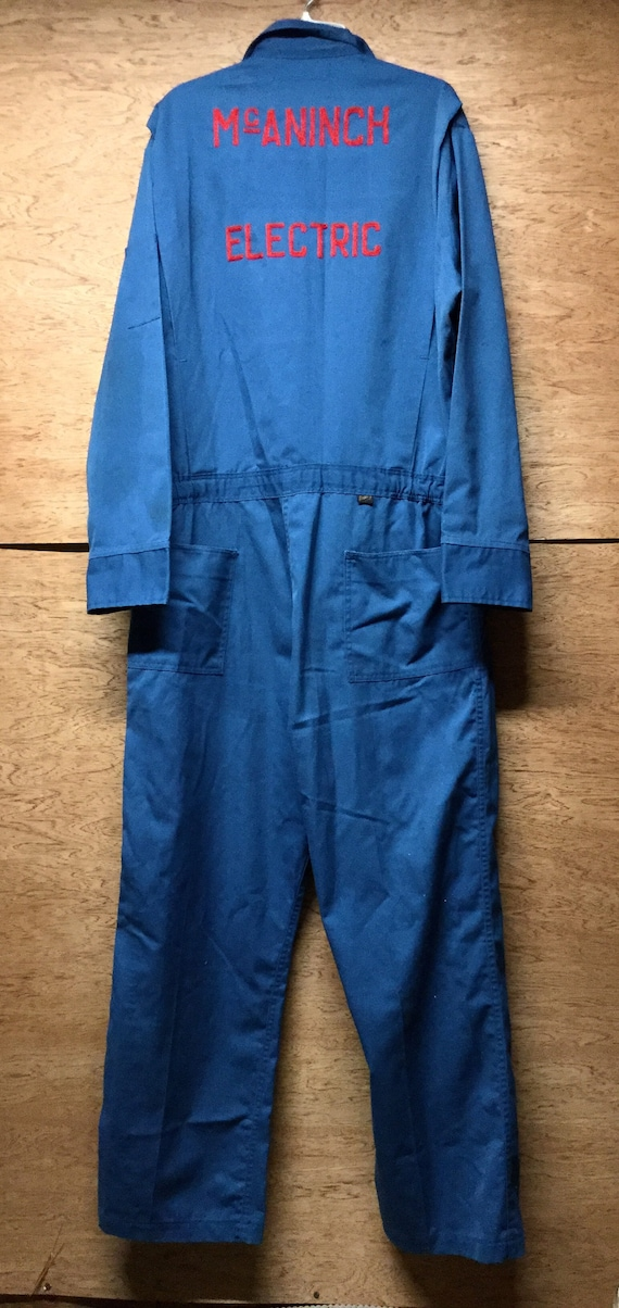 Vintage Mechanics Jumpsuit Work Jumpsuit