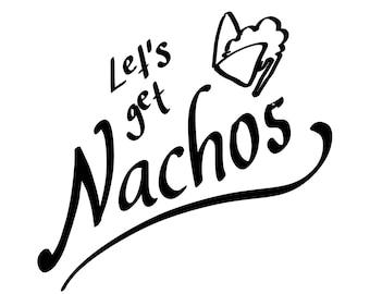 Let's Get Nachos MiniComic