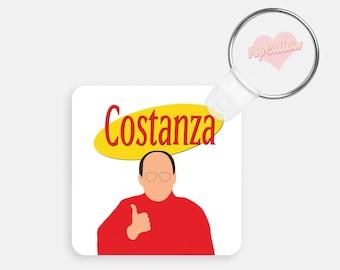 George Costanza Key Chain - Seinfeld