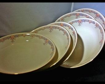 7 Sango Regency Collection Monroe Soup Salad Bowls Japan 1500 Fine Ivory China LIKE NEW!