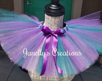 09a9bf7142fc Mermaid tutu, lavender, purple, & jade tutu, glitter tutu, birthday tutu,  smash cake tutu, preemie to 10/12, custom tutu, halloween