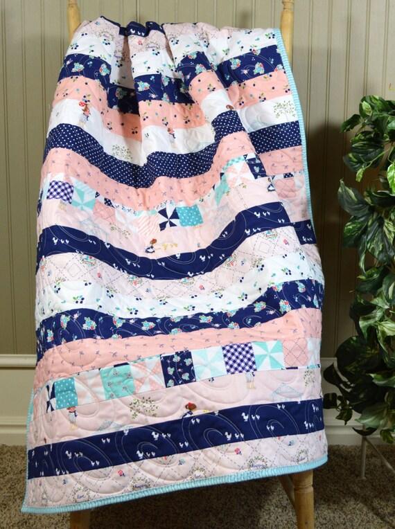 Orange Nursery baby Bedding Handmade Baby Blanket Green Baby boy quilt Baby Bedding Handmade Navy Quilts Train Baby Quilt