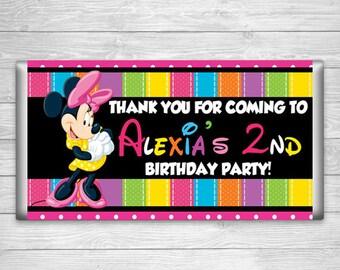 CBW-419: DIY - Minnie Mouse 3 Candy Bar Wrapper