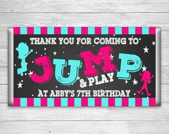 CBW2-920: DIY - Jump Candy Bar Wrapper