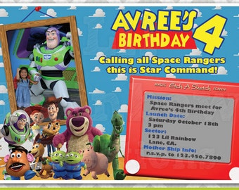 178: DIY - Toy Story Inspired Party Invitation Or Thank You Card