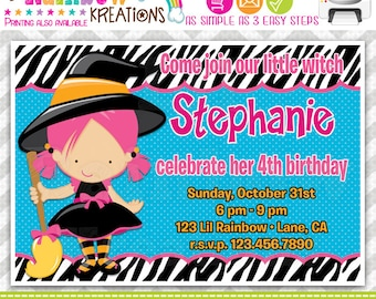 209: DIY - Halloween 3 Party Invitation Or Thank You Card