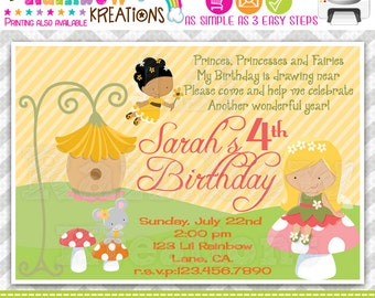 459: DIY - Fairies Party Invitation Or Thank You Card