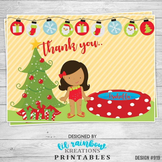 Christmas In July Party Clipart.919 Diy Christmas In July 5 Party Invitation Or Thank You Card