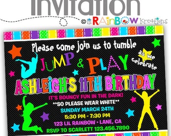 075: DIY - Glow In The Dark Party Invitation Or Thank You Card