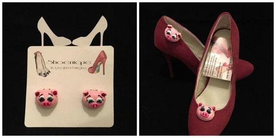Schwein Katze Hund Tier Pferd Schuh festliche Heels Pumps Mode handgefertigte schöne Skulptur ClipArt gemalt Kostüm