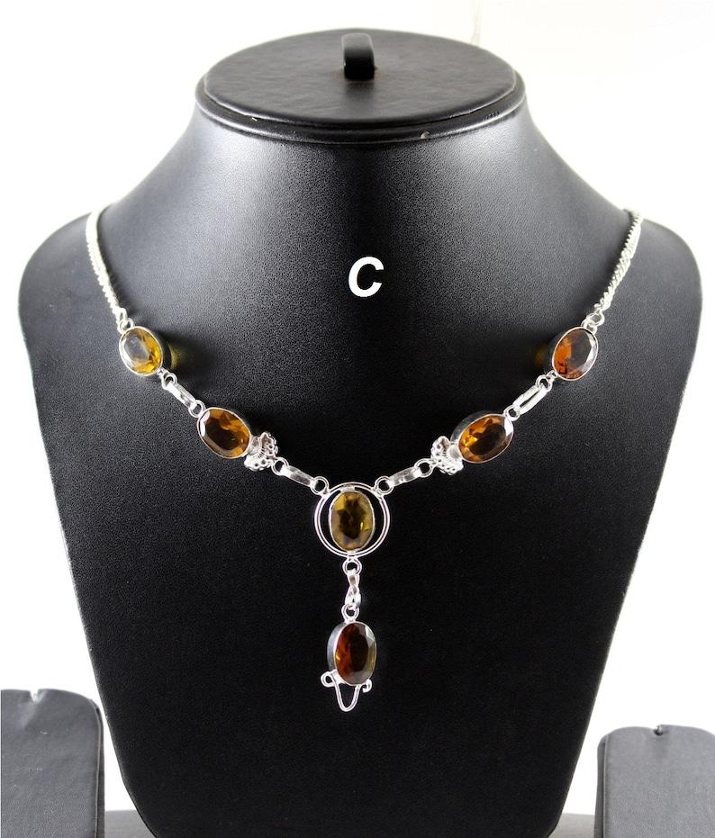 Green Druzy Bear Quartz Hydro Agate Necklace Silver Overlay Fashion Jewellery Fancy Designer Handmade Jewelry Sale. Sky Blue Chalcedony