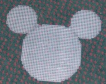 pre cut plastic canvas mouse
