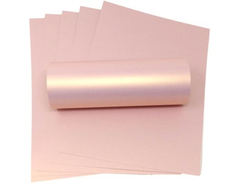 card making Opal 8.5X 11 sheets Silver stamping paper crafting /& Pink 20 shts Darice Pearlescent Card card stock 5 each of Gold