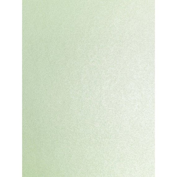 10 x A4 Card Fresh Mint Green Pearlescent Shimmer 290gsm Card Making Invitations