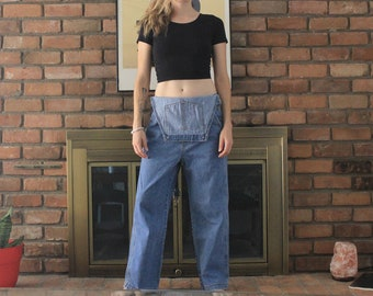 GAP 90's Stonewash Denim Overalls