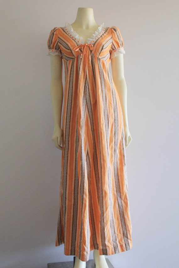 60's/70's Vintage Kawaii Baby Doll Puff Sleeve Ora