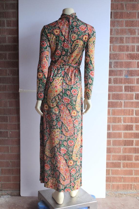 60's Vintage Eleanor Brenner High Neck Long Sleev… - image 3