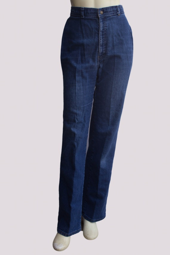 70's Vintage Women's High Waisted Levi's Straight