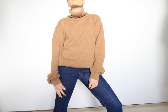 Marshall Fields Alpaca Long Sleeve Turtleneck 90's