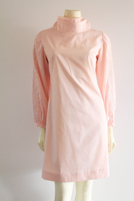 Late 50's Early 60's Vintage Teena Paige Pale Pink