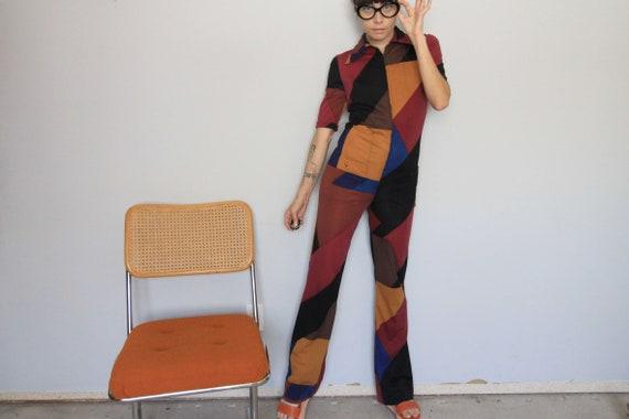 70's Vintage Ken Scott x Nieman Marcus Knit Colorb